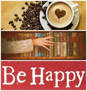 Happy Coffee and Book