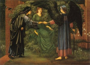 heart-of-the-rose-1889 Edward Burne Jones