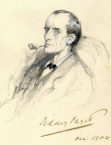 """Sherlock Holmes Portrait Paget"" by Sidney Paget (1860-1908) - de.WP. Licensed under Public Domain via Wikimedia Commons"