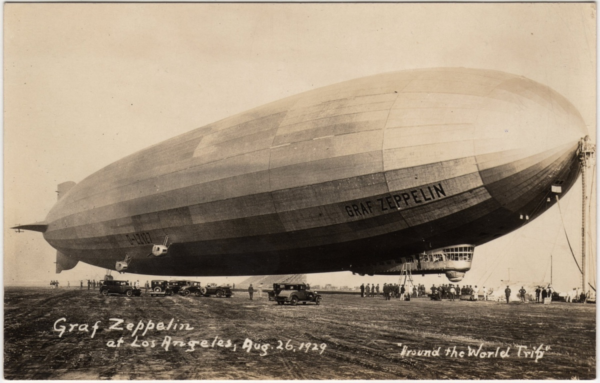 A Documentary of Airships, Adventure, and Illicit Romance