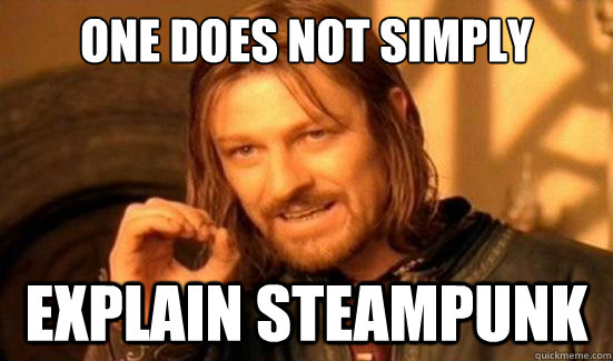 """""""One does not simply"""" meme"""
