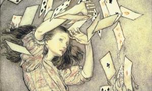 Alice by Arthur Rackham 1907 Bridgeman Art Library