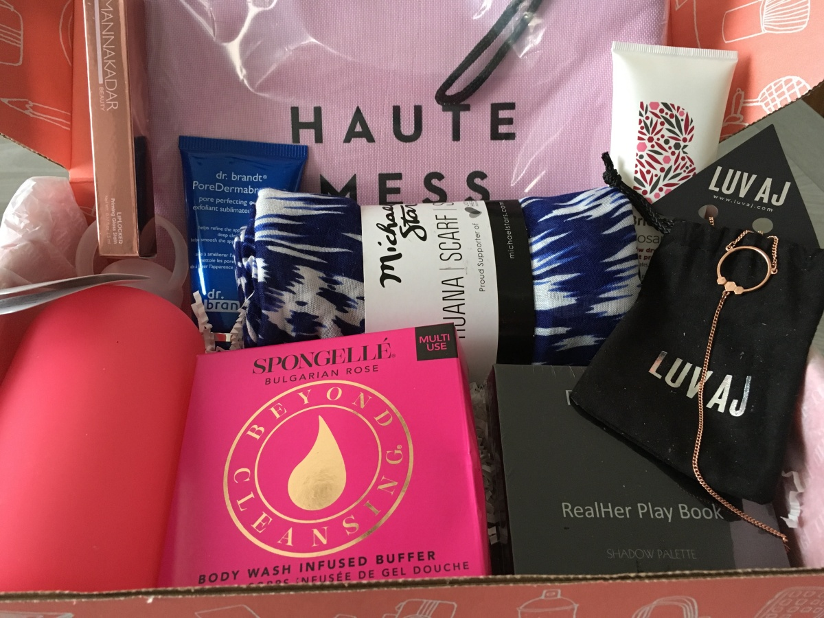 FabFitFun Pre-Fall Editor's Box Unboxing