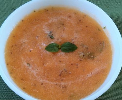 Cantaloupe and Chia Soup