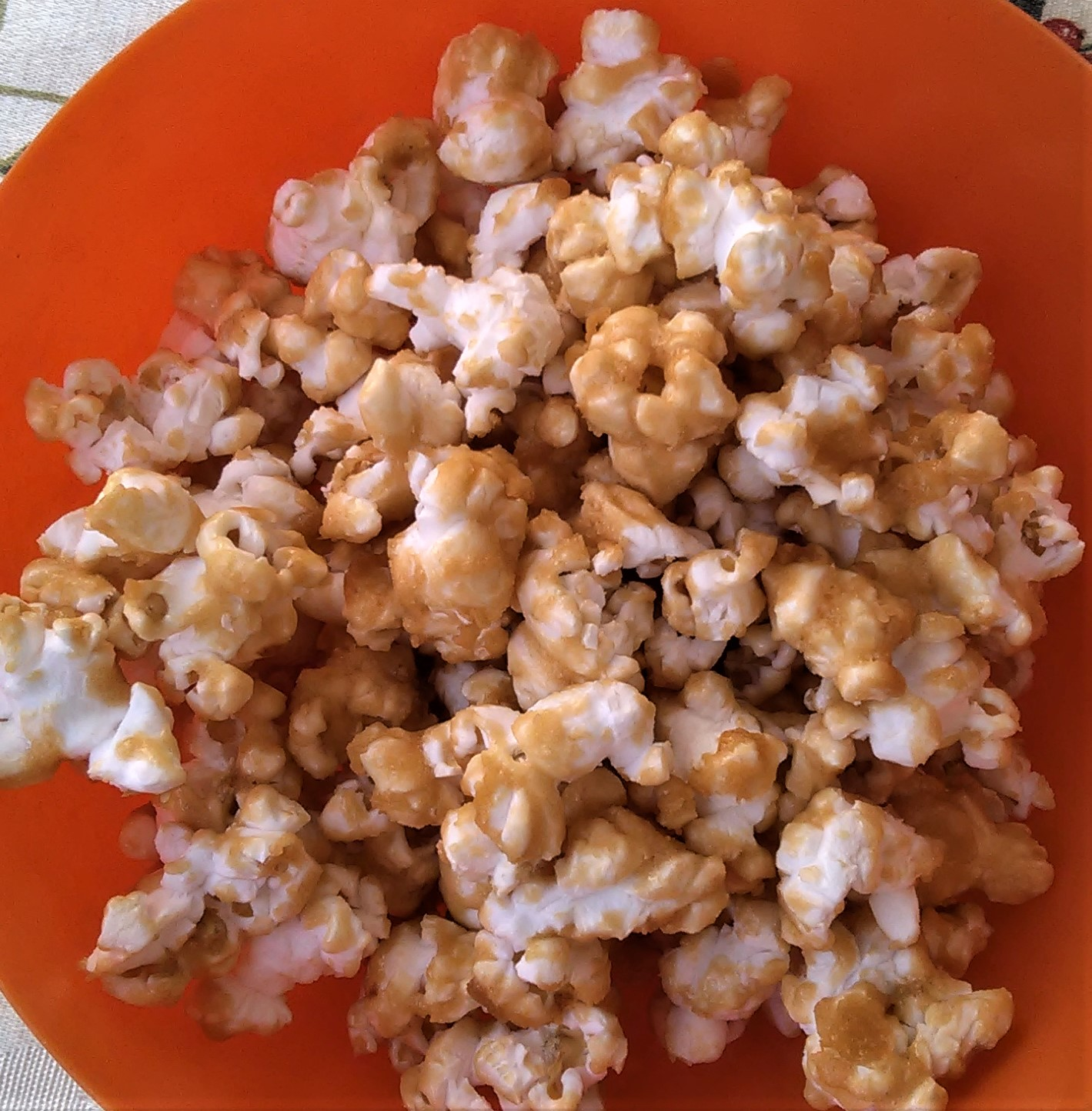 Baked Carmel Corn